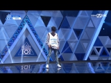 [PERF.] 170414 Lee Woo Jin (Media Line Ent.) – EP.2 Produce 101 @ Mnet Official