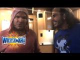 [WW QTV]☆[Jeff and Matt Hardy]The Hardy Boyz are home WrestleMania]Харди Вернулись[April 2, 2017