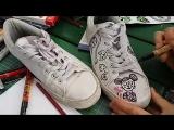 школа граффити Гаражи скетчи и кеды