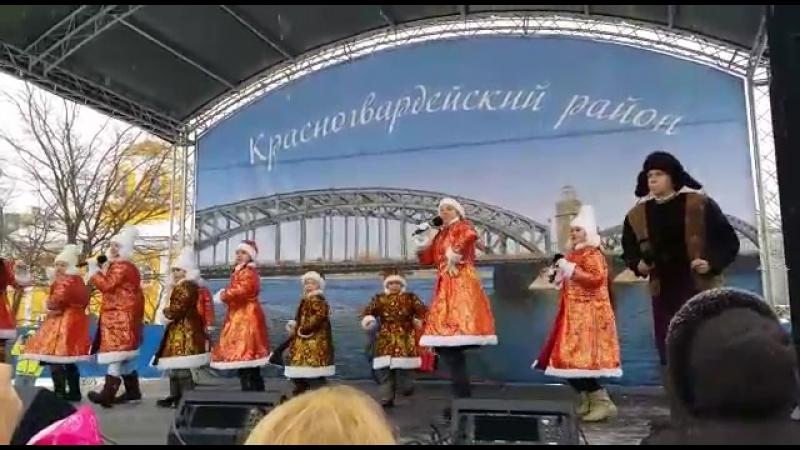 26.02.2016 ''Ехала деревня, четыре двора'' Проводы масленицы