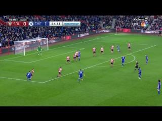 Саутгемптон 0:2 Челси. Гол Косты