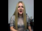 Милая девушка круто спела песню Кристины Си - Тебе не будет больно (cover)