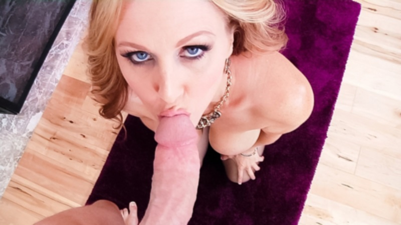 Julia Ann, MILFs Suck, Mature Big Tits Blonde Blow Job