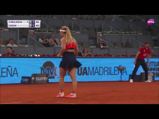 2017 Mutua Madrid Open Second Round | Oceane Dodin vs Dominika Cibulkova | WTA Highlights