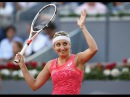2017 Mutua Madrid Open First Round Timea Bacsinszky vs Garbine Muguruza WTA Highlights