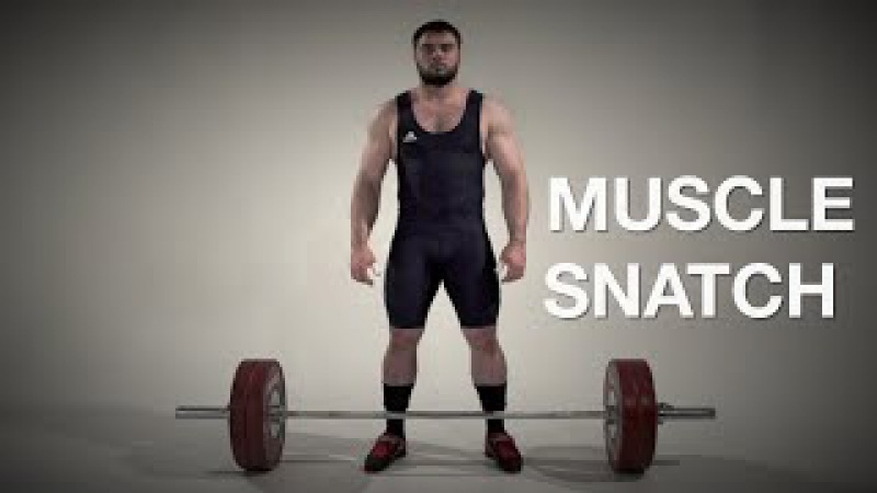 Muscle SNATCH / weightlifting crossfit