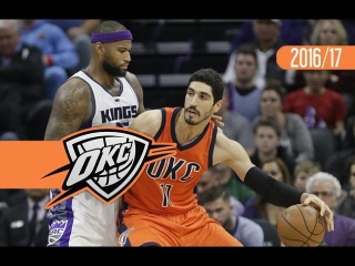 Enes Kanter Double-Double Highlights at Kings 2017.01.15 - 29 Pts, 12 Reb, 2 Ast, 1 Stl, 1 Blk
