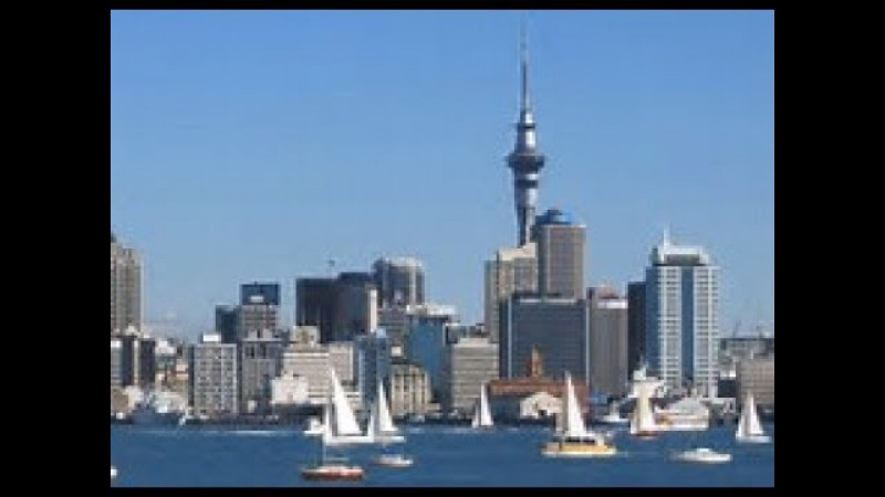 Auckland city tour , New Zealand in Ultra 4K