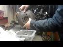 Центробежное сцепление на минитрактор