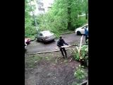Последствия урагана в Москве 29.05.2017