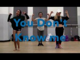 Jax Jones  You Don't Know me  Choreography by Viet Dang
