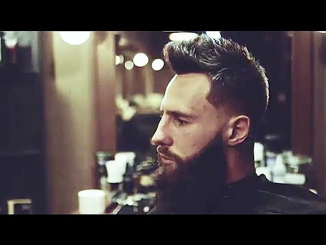 Taper Fade Beard Men's hairstyle trend 2017 by The Barber RAKHiMOFF
