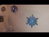Новогоднее оформление кофейни Be My Guest Bakery от Wedding Art Studio