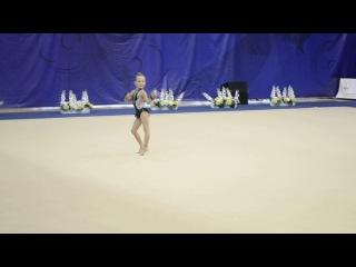 Даша Васильева - Фестиваль по художественной гимнастике «Золотая осень». г. Пенза 2016 год