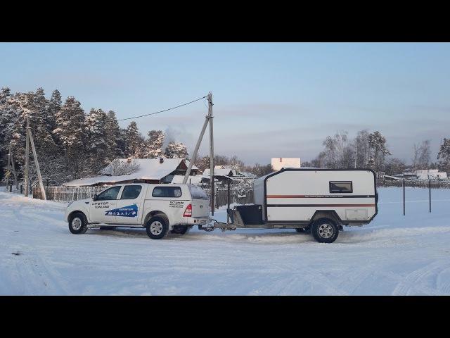 Тест-драйв Фотон Тунланд и Via Lander / Test drive Foton Tunland off road trailer Via Lander