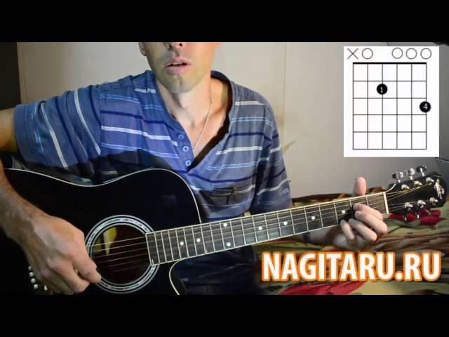 Очень красивая и легкая мелодия на гитаре - Разбор - Nagitaru.ru