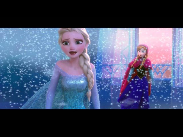 Anna и Эльза Первый раз за эту вечность Холодное сердце AF TV