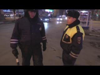 Обучаю последователей - любое нарушение ПДД полицейск ...