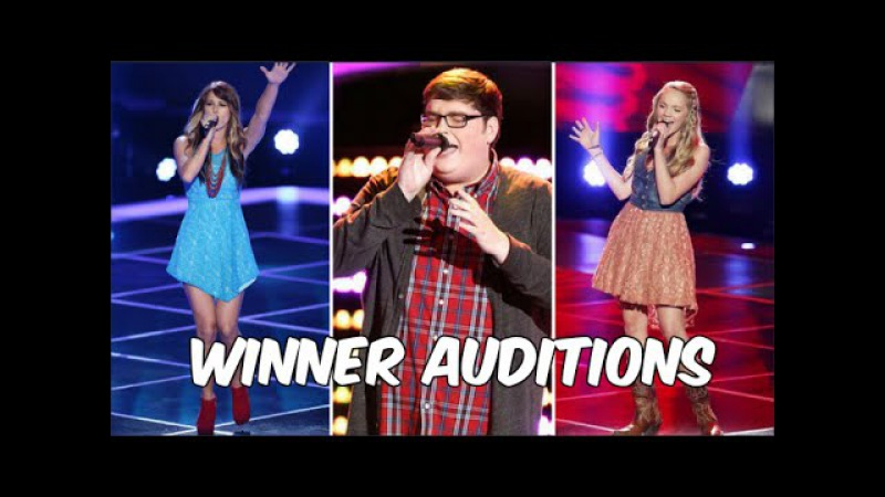 ALL WINNERS Auditions Seasons 1-10 | The Voice USA