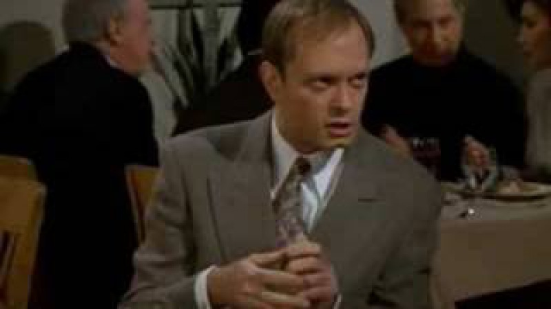 Frasier and Niles - Expensive lunch