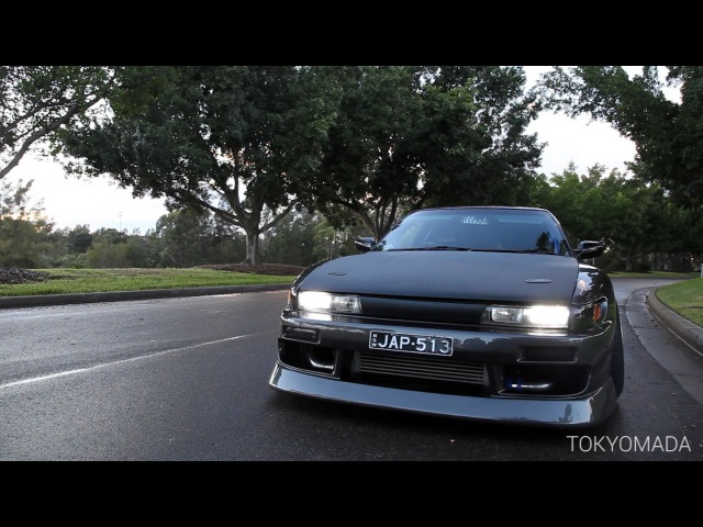 Nissan Silvia s13 - The Widest, Lowest and Loudest Revs