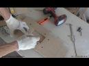 Самодельный шаблон для врезки дверных петель ручным фрезером Изготовление Фрезер RYOBI RRT1600 K