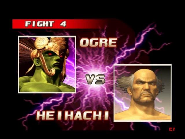 Tekken 3 Online 134 (Ogre) vs SERAPHIM 2016