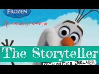 Frozen Olaf - An Amazing Snowman - written by Barbara Jean Hicks