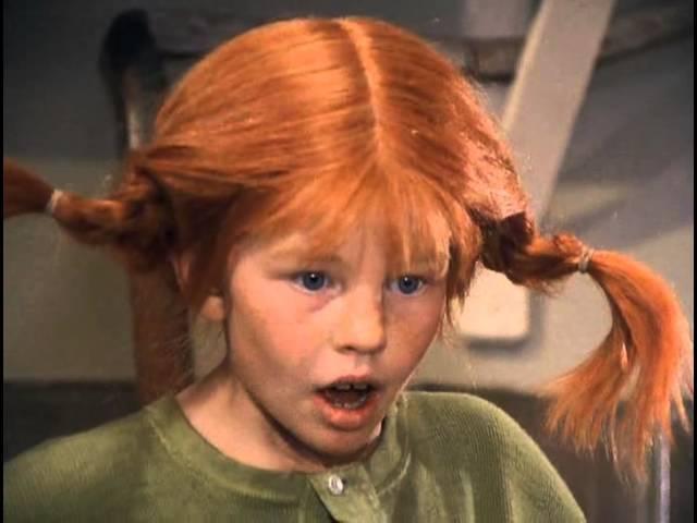 Пеппи Длинный чулок (Pippi Långstrump). 7 серия. Пеппи идет в школу.