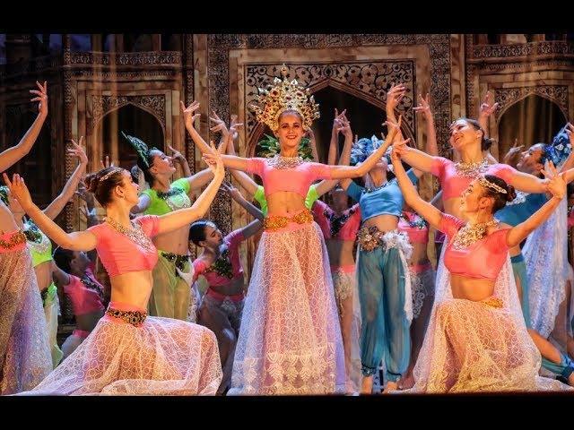 Индия. Фрагмент отчетного концерт 2017. Шоу-балет Культурная революция