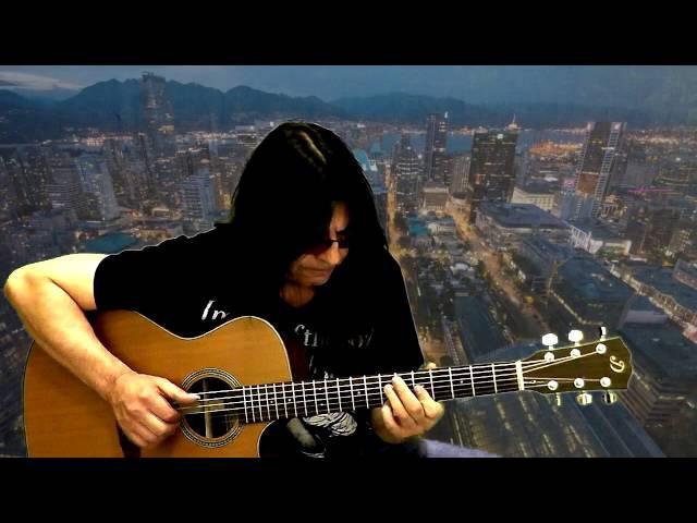 Канцона, под небом голубым, есть город золотой - guitar cover - Viktor Rusinov