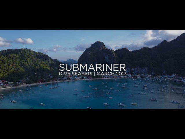 Submariner Dive Center | Dive Seafari March 2017 | El Nido - Coron | Philippines