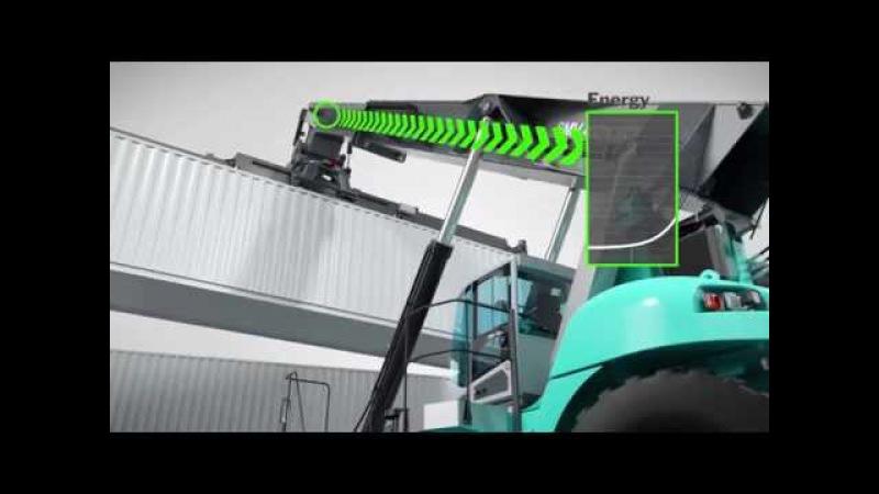 Konecranes Hybrid Reach stacker