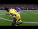 При счете 2-0 начинается подобная хрень   Fifa 17