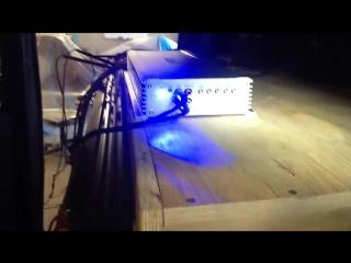 Замер звукового давления усилителя ARIA AP-D2000. Подключение в 1 Ом мощность усилителя GAIN 3-4