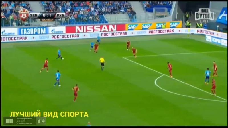 Зенит 2 1 Рубин Обзор матча HD