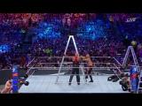 The Hardy Boyz vsLuke Gallows &amp Karl Anderson vs Cesaro &amp Sheamus vs  Enzo Amore &amp Big Cass  - Wrestlemania 33 HD
