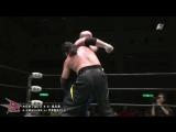 Abdullah Kobayashi, GAINA vs. Kankuro Hoshino, Masato Inaba (BJW - Death Mania 2014)