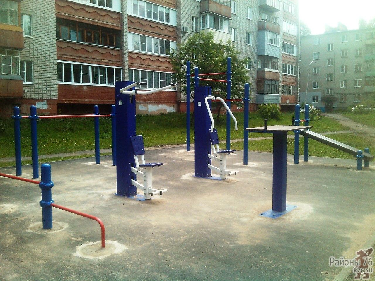 Установлена площадка для сдачи норм ГТО на Липовой горе.