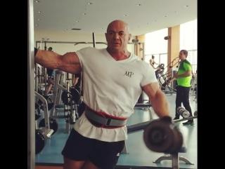 Александр Слободянюк. IFBB PRO UKRAINE. Тренировки-2017 (GoB channel)