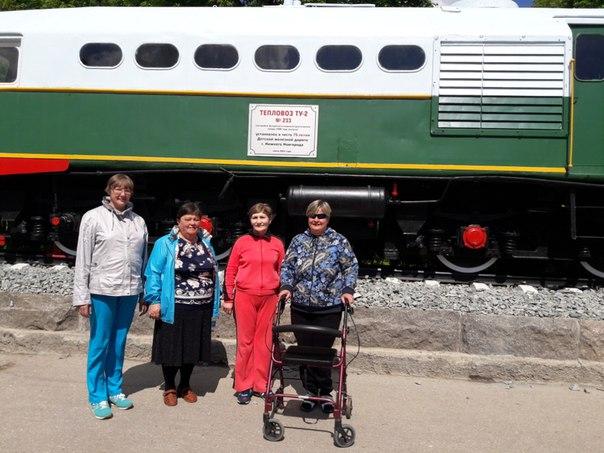 Городецкая организация инвалидов и ГБУ Городецкий «ПНИ» провели автобусную экскурсию на Детскую железную дорогу в Нижнем Новгороде