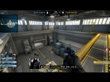 M1 Happys 1vs4 clutch attempt (T pre-plant situation) is denied after 3 P250 kills (2 HS) on the bombsite A offensive