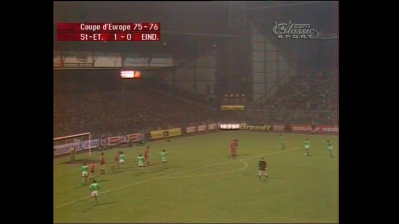 57 ECCC-1975/1976 AS Saint-Étienne - PSV Eindhoven 1:0 (31.03.1976) FULL