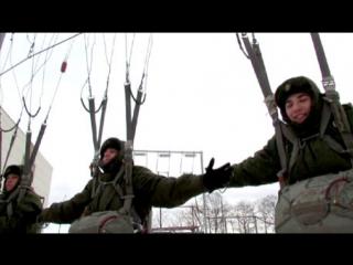 Морпехи ТОФ совершили первые в жизни прыжки с парашютом: видео