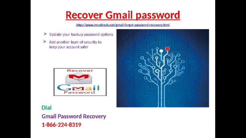 Need help regarding 1-866-224-8319 Reset Gmail password?