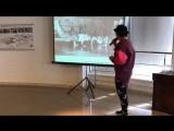 Лекция Сабины Чагиной о стрит-арте для проекта «Выкса 10 000»