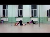 Танец. Школа Вертикаль г. Ярославль. тренер Едемская Дарья