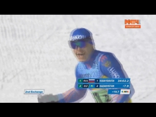 Всемирная универсиада 2017. Лыжные гонки. Валерий Гонтарь