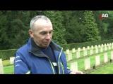 В Голландской деревне каждая семья купила по букету на кладбище советским солдатам.