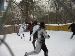 Футбол футбол в нашем дворе